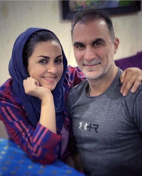 شیوا ابراهیمی و برادرش + عکس