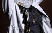 متین ستوده با شال و کلاه زمستانی + عکس