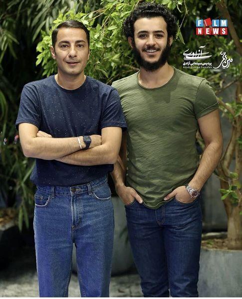 علی شادمان در کنار بازیگر مشهور جوان + عکس