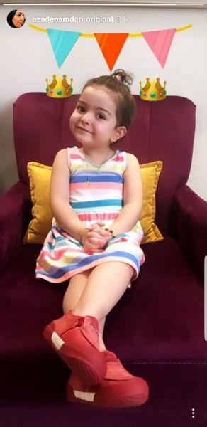 دختر کوچولوی بانمک آزاده نامداری + عکس