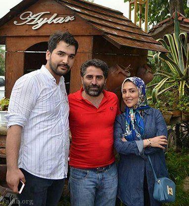 خانم مجری خوش سخن تلویزیون و همسرش در کیش+عکس