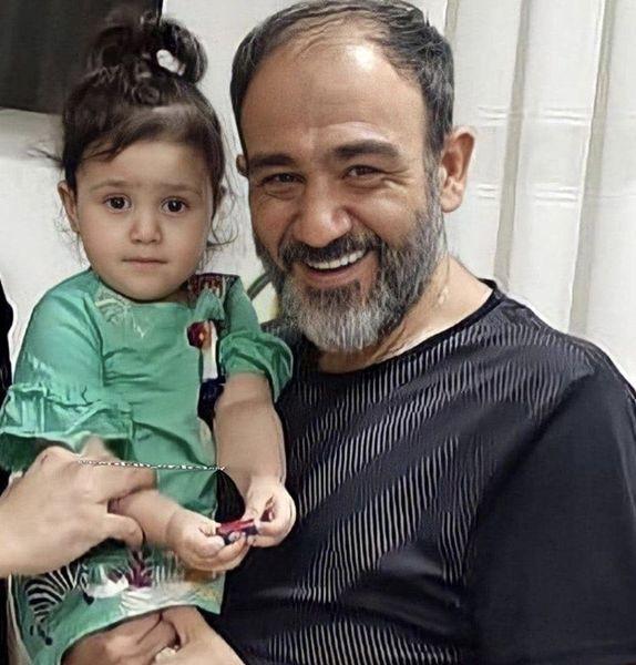 مهران غفوریان و دخترش هانا + عکس