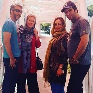 گردش یکتا ناصر با شوهر و خواهرشوهر جانش+عکس