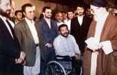 رامبد جوان، رضا عطاران و حسن جوهرچی در کنار رهبرانقلاب/عکس