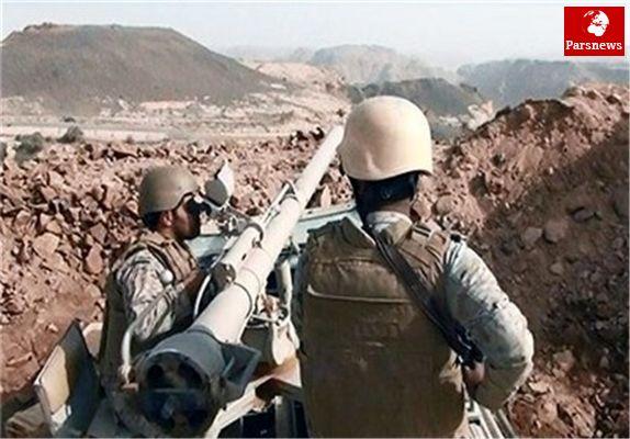 توپخانه ارتش یمن مواضع عربستان را درهم کوبید