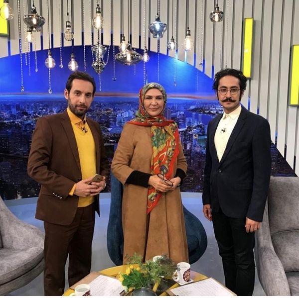 خانم بازیگر معروف میهمان شبکه جام جم شد + عکس