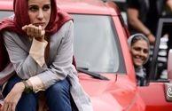 سارا بهرامی و ماشین قرمز کرگدنی اش+عکس