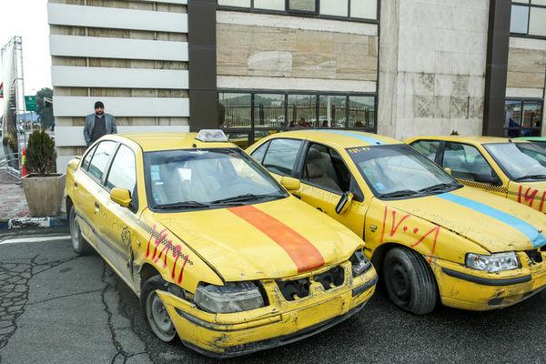 حرکت لاک پشتی نوسازی تاکسیهای فرسوده