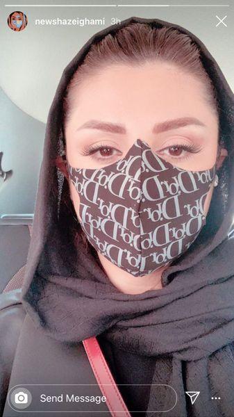 ماسک برند نیوشا ضیغمی + عکس