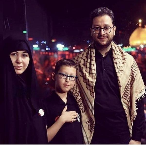 خانواده مذهبی سید بشیر حسینی + عکس