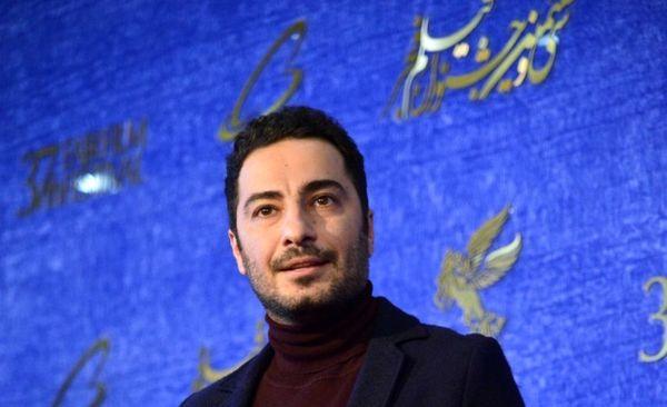 نوید محمدزاده در فوتوکال فیلم «سرخپوست»