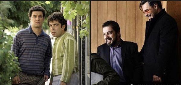 جواد عزتی و عباس جمشیدی فر در گذر زمان + عکس