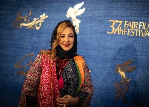 بهنوش بختیاری، ساره بیات و هدی زینالعابدین روی فرش قرمز جشنواره/عکس