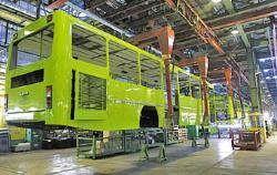 توقف تولید اتوبوس در چند شرکت