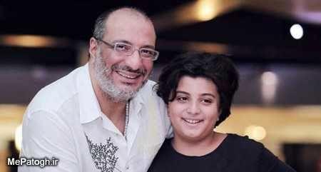امیر جعفری و پسرش توپولی اش + عکس