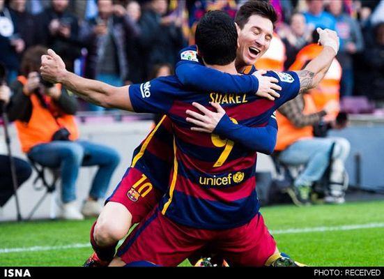 پیروزی بارسلونا بر دیپورتیوو با 8 گل