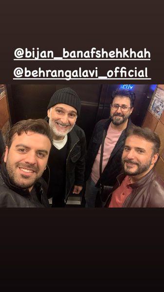 مافیایی ها در آسانسور + عکس