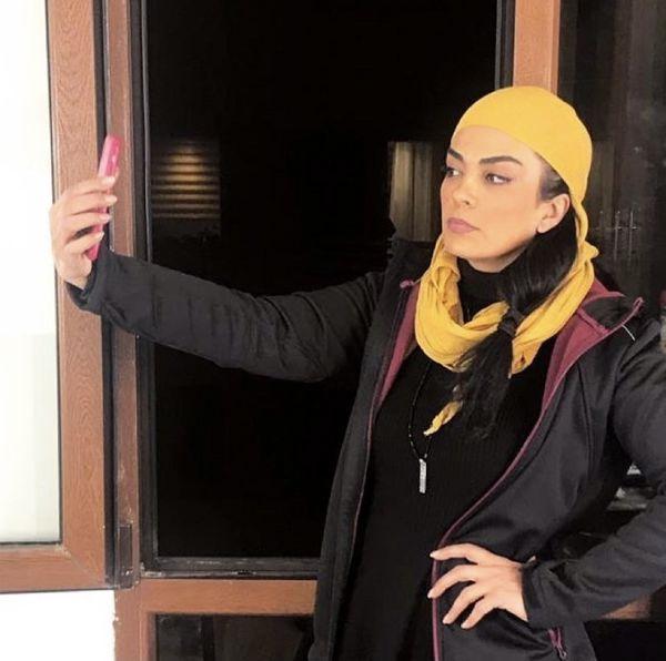 سارا خوئینی ها با استایلی متفاوت + عکس