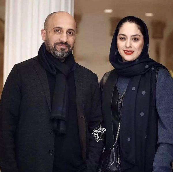مارال بنی آدمدر کنار همسرش + عکس