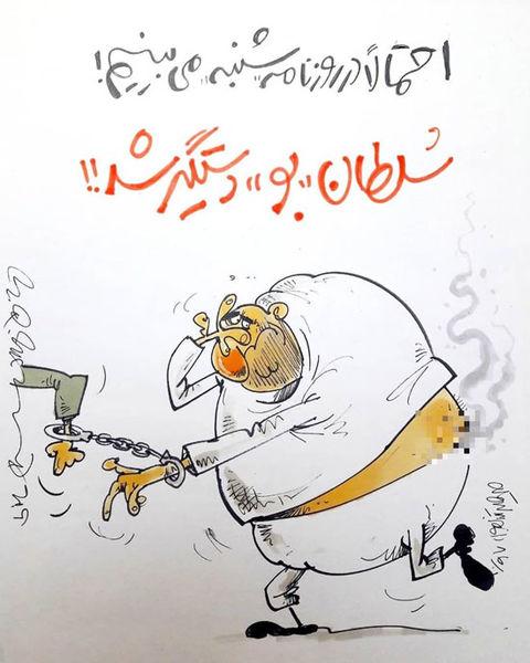 سلطان بو دستگیرشد!