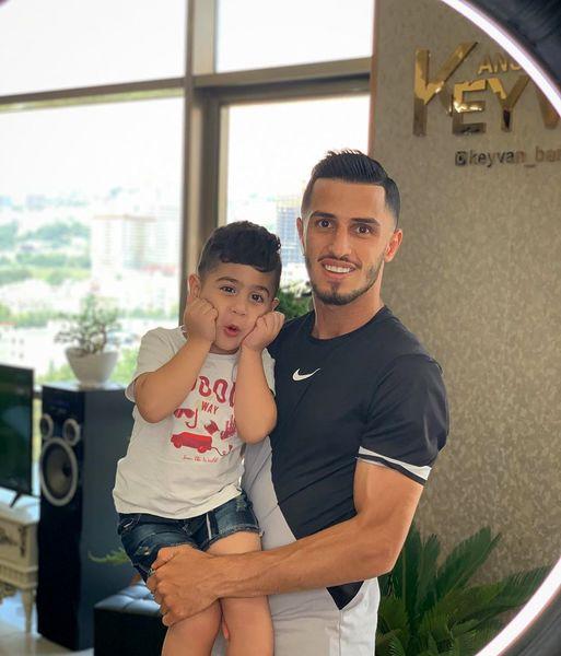 علی علیپور و پسر فوکولی اش+عکس