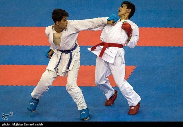 حریفان کاراته کاهای ایران در لیگ جهانی کاراته مشخص شدند