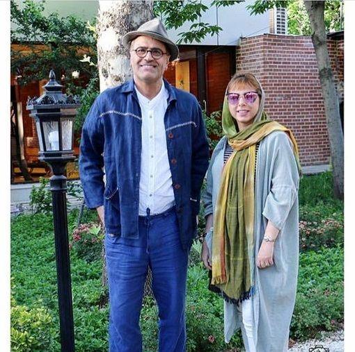 کاراگاه ستایش و همسرش در ویلایی زیبا+عکس