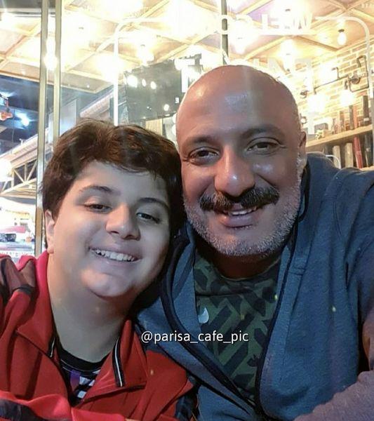 تفریحات امیر جعفری با پسرش + عکس