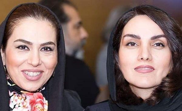 مرجان شیرمحمدی در کنار خانم کارگردان