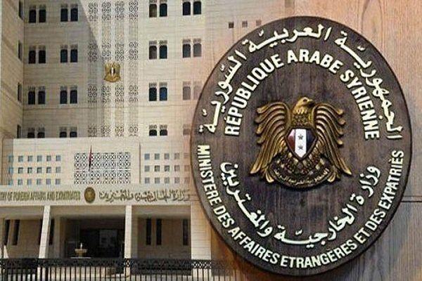 واکنش دمشق به تحریم های آمریکا علیه ایران
