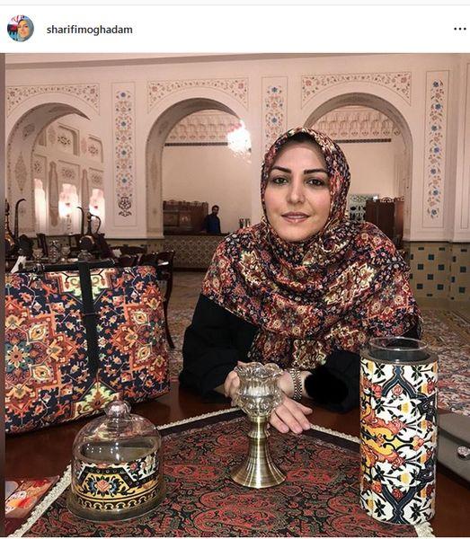 ست زیبای امیرا شریفی مقدم + عکس