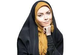 حجاب کامل دختر آزاده نامداری با چادر