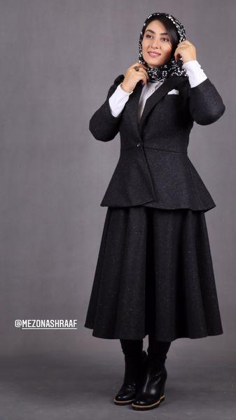 الهام طهموری با لباس های رسمی + عکس