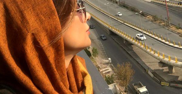 یکتا ناصر بر فراز تهران+عکس