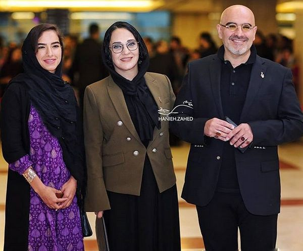 تیپ رویا نونهالی و خانواده اش در جشن حافظ+عکس