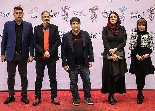 بازیگران سینما روی فرش قرمز جشنواره فجر/تصاویر