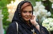 ژست بهاره رهنما با فرشهای ایرانی