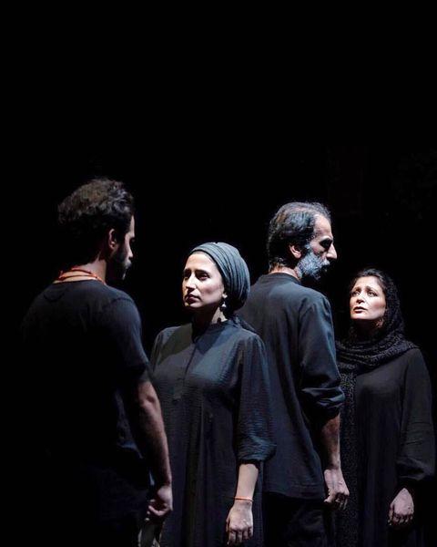 نگار جواهریان روی صحنه تئاتر+عکس