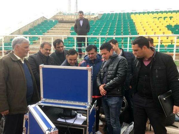 آزمایش VAR در بازی دوستانه تیم ملی امید