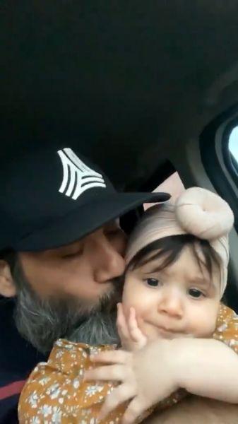 بوسه مهران غفوریان در ماشین + عکس