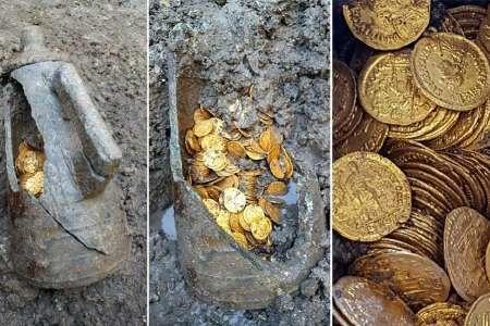 صدها سکه مربوط به دوره روم باستان در ایتالیا کشف شد