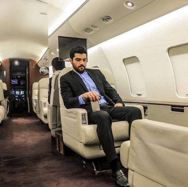 هواپیمای شخصی بازیگر معروف + عکس