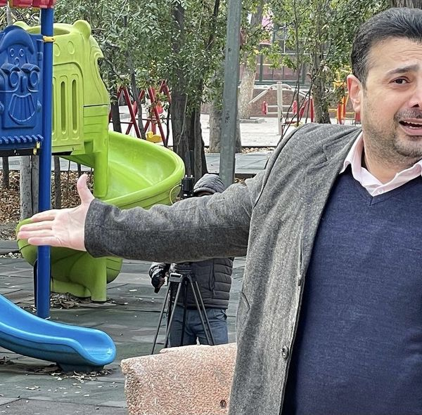 سپند امیرسلیمانی در پارک + عکس
