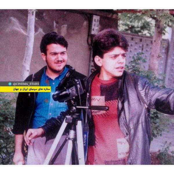 همکاری مهران غفوریان در زمان جوانی با کارگردان معروف + عکس