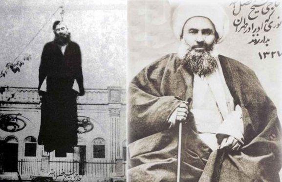 نتیجه تصویری برای شیخ فضل الله نوری