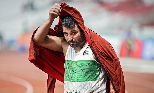 کنایه قهرمان آسیا به فدراسیون دوومیدانی+پست کنایه آمیز حدادی