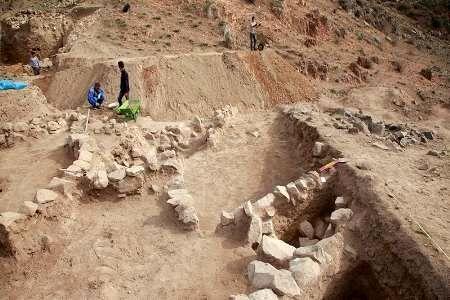 کاوشهای نجاتبخشی در قلعه آلاجوق گرمی به پایان رسید
