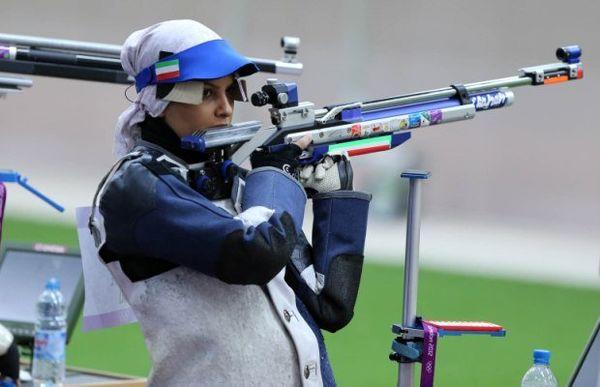 کسب مدال ایرانی ها در رقابتهای تیراندازی قهرمانی آسیا