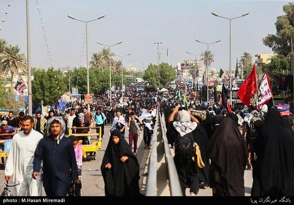 اجتماع میلیونها مسلمان در بزرگترین راهپیمایی جهان