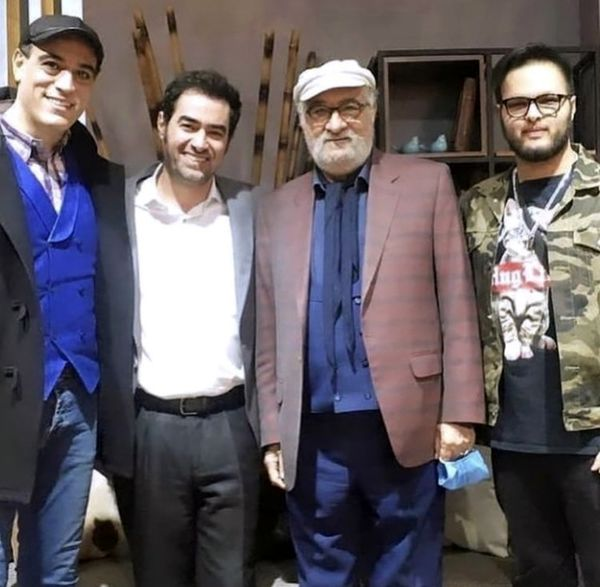 شهاب حسینی و داریوش ارجمند